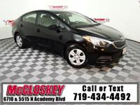 Lowest miles 2016 Kia Forte LX in 150 Miles! Offering