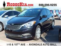 *Bluetooth* This 2016 Kia Forte LX is Aurora Black