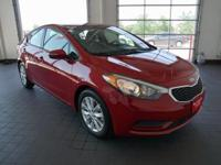 Options:  2016 Kia Forte Lx|Red|Power To Surprise!