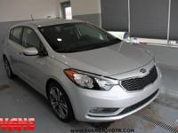 CARFAX One-Owner. Clean CARFAX. Silky Silver 2016 Kia