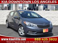 CARFAX One-Owner. Clean CARFAX. Blue 2016 Kia Forte LX