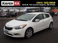 This Snow White Pearl 2016 Kia Forte5 LX might be just