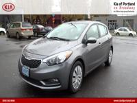 ~~ 2016 Kia Forte 5-Door LX ~~ CARFAX: 1-Owner, Buy