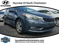 CARFAX One-Owner. Clean CARFAX. Gray 2016 Kia Forte LX