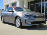 We are excited to offer this 2016 Kia Optima. When you
