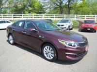 2016 Kia Optima EX Sangria New Price! Back up camera,