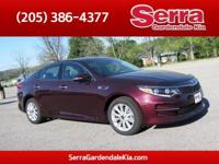 Sangria 2016 Kia Optima EX FWD 6-Speed Automatic with