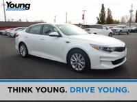 2016 Kia Optima EX. Leather. Pad your wallet with the