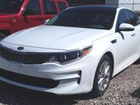 This one owner 2016 Kia Optima has 17-inch alloy