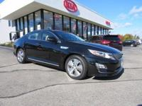 This 2016 Optima Hybrid is for Kia fans who are hunting