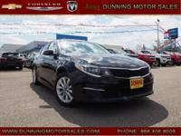 Ebony Black 2016 Kia Optima LX FWD 6-Speed Automatic