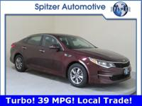 **Turbo* *39 MPG* *Backup Camera* *1 Owner, Local