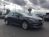 This GRAY 2016 Kia Optima LX might be just the sedan