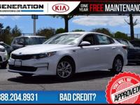 Left over!! Only 16 miles! White 2016 Kia Optima LX FWD