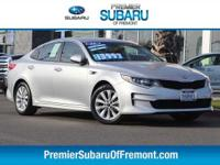 Options:  2016 Kia Optima Lx 4D Sedan|6 Speakers|Am/Fm