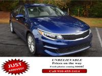 Boasts 35 Highway MPG and 24 City MPG! This Kia Optima