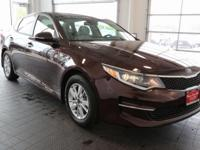Options:  2016 Kia Optima Lx|Purple|Beige. Power To