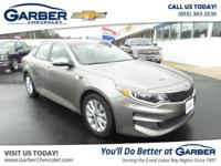 Come in and check out this 2016 Kia Optima!! CARFAX 1