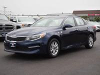 This BLUE 2016 Kia Optima LX might be just the sedan