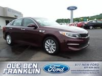 Options:  2016 Kia Optima 4Dr Sdn Lx|Front Wheel