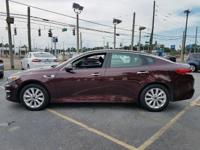 Options:  2016 Kia Optima Lx 4Dr Sedan|Burgundy|16''
