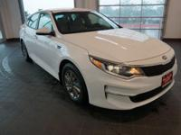 Options:  2016 Kia Optima Lx|White|Beige. Hold On To