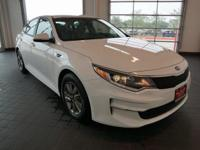 Options:  2016 Kia Optima Lx|White|Beige. Are You Ready