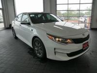 Options:  2016 Kia Optima Lx|White|Black. You Need To