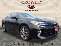 2016 Kia Optima SX Ebony Black New Price! Navigation,