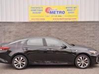 2016 Kia Optima SX  in Black, Bluetooth for Phone and