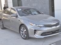 Clean CARFAX. Certified. Titanium Gray 2016 Kia Optima
