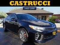 New Price! CARFAX One-Owner.  Certified. Black 2016 Kia