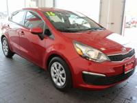 Options:  2016 Kia Rio Ex|Red|**Bluetooth**|**Carfax 1
