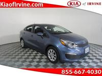 This 2016 Kia Rio is Kia Certified with a 10yr 100k Kia