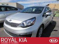 This 2016 Kia RIO LX will sell fast!! SAVE MONEY AT THE