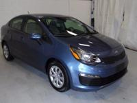 Recent Arrival! 2016 Kia Rio LX CARFAX One-Owner. Clean
