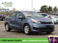CarFax 1-Owner, This 2016 Kia Rio LX will sell fast