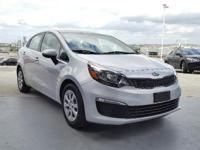 LX trim. CARFAX 1-Owner, Kia Certified, Excellent