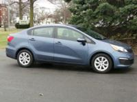 Options:  2016 Kia Rio Lx|Urban Blue Pearl Metallic/|V4