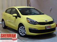 New Arrival! CarFax 1-Owner, This 2016 Kia Rio LX will