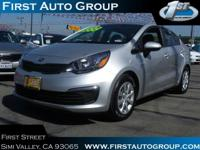 CarFax One Owner! This Kia Rio is CERTIFIED! Satellite