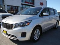 Kia Certified! LOW LOW Miles, Safe, Extra Roomy with