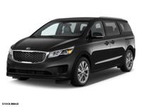 This 2016 Kia Sedona LX is complete with top-features