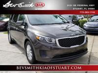 New Price! Priced below KBB Fair Purchase Price! **KIA