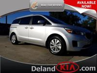 Deland Kia is excited to offer this 2016 Kia Sedona.
