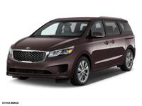 2016 Titanium Kia Sedona LX Certification Program
