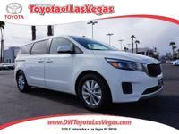 David Wilsons Toyota of Las Vegas means business! Van