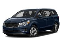 This Kia Sedona is CERTIFIED! Back-up Camera; Steering
