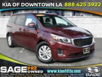 Introducing the 2016 Kia Sedona! A great vehicle and a