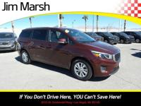 Introducing the 2016 Kia Sedona! The safety you need